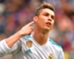 Ronaldo hits new heights with remarkable Real Madrid goal record in 2018