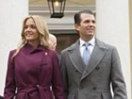 donald trump's jr wants a divorce because he's cheap, sources claim