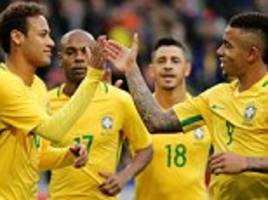 brazil sign agreement with tottenham to use club facilities