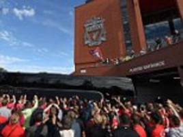 manchester city to express 'serious concerns' over liverpool fans