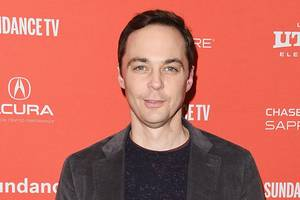 jim parsons is all hopped-up about john oliver's bunny book