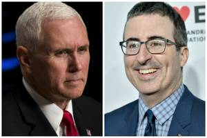 John Oliver's Bunny Children's Book Is Beating the Hell out of Mike Pence's on Amazon
