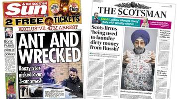 The papers: Putin 'stockpiling nerve agents' amid election win
