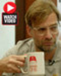 Liverpool boss Jurgen Klopp reveals hilarious pre-drinking story from house party