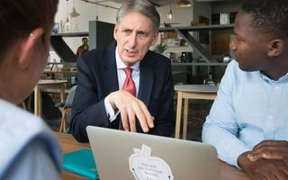 philip hammond is launching a uk fintech strategy this week