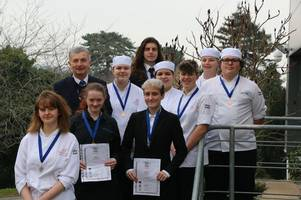 crediton chef wins top accolades in culinary contest
