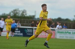 former cheltenham town and gloucester city forward back at salisbury