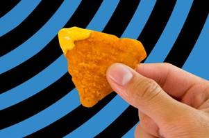 like chicken nuggets? like nachos? now they've been brought together to 'completely disrupt the crispy chicken game'