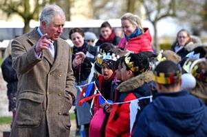 a very royal occasion - large crowds welcome prince charles to lincolnshire