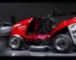 honda creates lawnmower with top speed over 190km/h