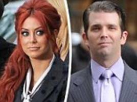 donald trump jr had affair with aubrey o'day