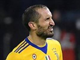 giorgio chiellini expected to face real madrid in champions league