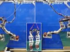 Scientists built an 'Iron Man-inspired' robot with jet-powered feet