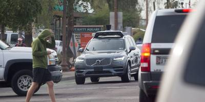 uber is 'likely' not at fault in the fatal self-driving car crash, local police chief says