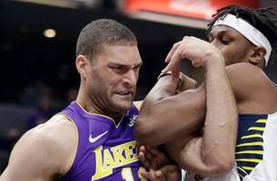 pacers battle back for 110-100 win over lakers