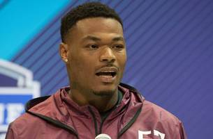 nothing left to prove: fsu's derwin james sits out position drills at pro day