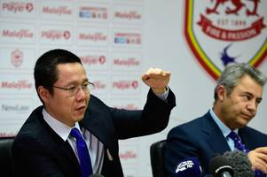 championship news: cardiff city chief ken choo demands derby county reimburse fans after calling sunday's game off