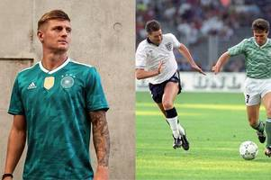 germany's world cup second strip is already a classic