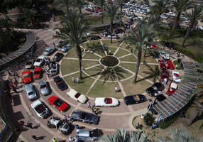 $100 million worth of classic cars embark on journey throughout israel