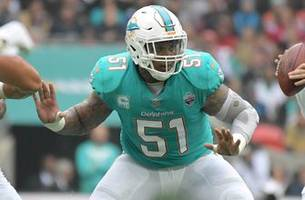 chargers sign ex-dolphins center mike pouncey to two-year deal
