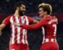 'i don't want to stay here alone!' - costa hopeful barcelona-linked griezmann stays at atletico