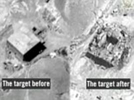 israel admits bombing suspected syrian nuclear reactor...