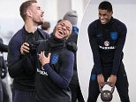 england train for holland friendly as they prepare for world cup