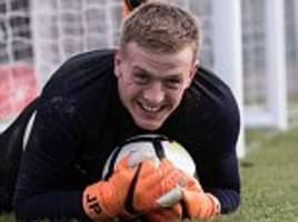 jordan pickford catches gareth southgate's eye ahead of world cup