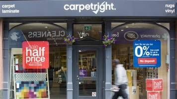 Carpetright seeks to close stores in rescue plan