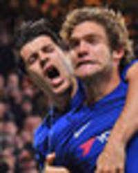 marcos alonso reveals chelsea team-mate alvaro morata's outrage at being snubbed