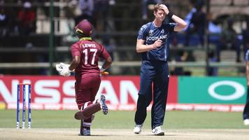 world cup qualifier: scotland miss out on 2019 world cup after west indies defeat