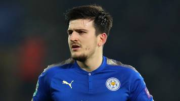 harry maguire: england player says jamie vardy made him 'a better defender'