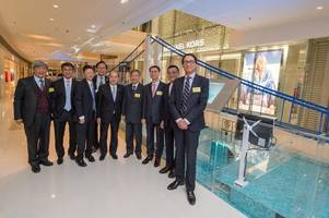 institution of civil engineers, aecom and mtr corporation unveil the world's longest span bridge built with lego(r) bricks in hong kong