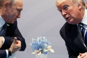 donald trump 'was told not to congratulate vladimir putin on re-election'