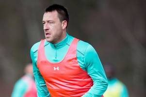 this is what aston villa defender john terry has been doing during the international break