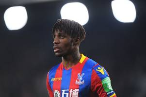 'he is a hell of a player' - crystal palace's wilfried zaha likened to manchester city star