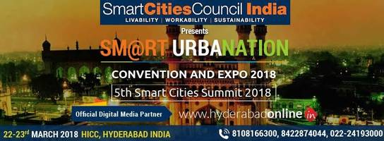 hyderabadonline.in & smart urbanation 2018 announce tie-up to promote smart cities in india
