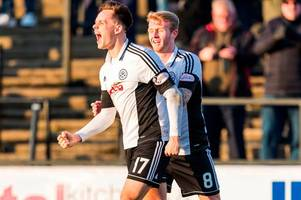 ayr united go six points clear after win over albion rovers