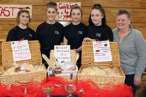 Dalbeattie High School holds very first producers market