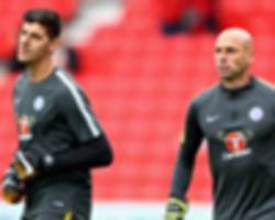 chelsea extend caballero contract amid transfer fight to keep courtois