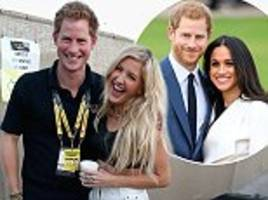 ellie goulding 'will attend ex-flame prince harry's wedding'