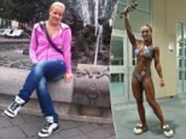 Slovakian 'warrior princess' reveals her jaw-dropping physique