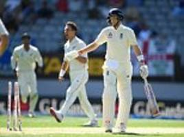 58 all out! england suffer nightmare start to new zealand test
