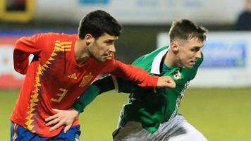 ni under-21s lose eight-goal thriller to spain