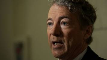 sen. rand paul might hold up a vote on government funding ... again