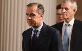 Bank of England policymakers hold interest rates, but hint at a May hike