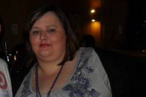 amazing pictures show woman's incredible 15 stone weight loss which saved her life