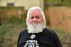 cheltenham rock'n'roll pensioner who's sick of being compared to santa decides to shave head for charity