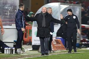 Every word of Cheltenham Town manager Gary Johnson's interview ahead of Crawley Town away