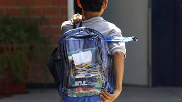 florida school shooting students told to wear clear backpacks